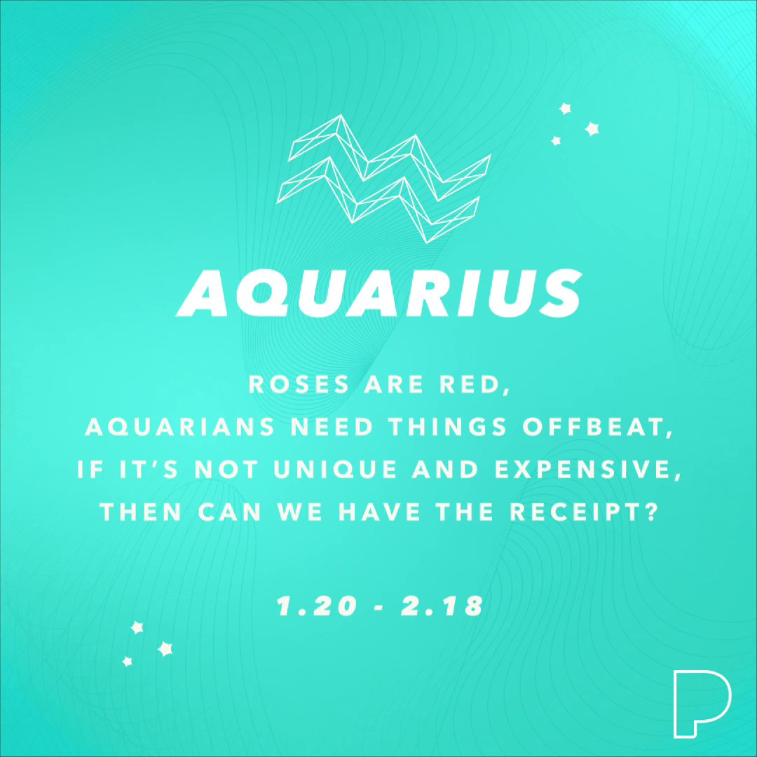 Our #AquariusSeason playlist we created with @astrology_com is certified one of a kind ♒ Listen now: pandora.app.link/7OxBAjMOp3