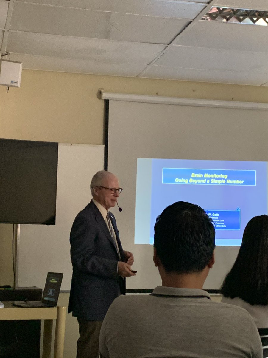 Dr andrew gelb giving a talk at uppgh dept of anesthesia pic.twitter.com/PRqZpc0vOl