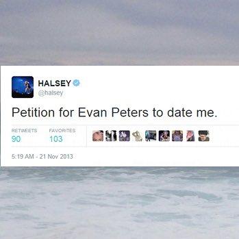 halsey said:                 i want it.                 i got it.