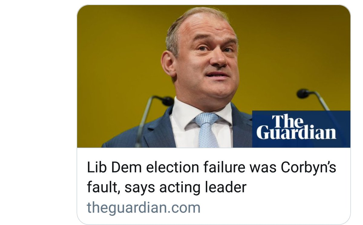 Lib Dem inquest into #GE2019 gives tentative cause for hope of complete annihilation at the next one. <br>http://pic.twitter.com/rb8VL6h26g