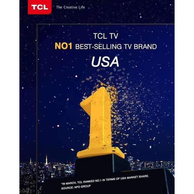 TCL 55-Inch 4k Android Smart UHD TV + 12 Months Warranty With Harmon Kardon Speakers, @ $350 <br>http://pic.twitter.com/i7EHt827VQ