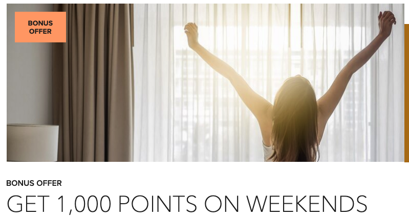 Earn 1,000 bonus points for weekend stays of 2+ nights at the Courtyard Calgary Airport rwrds.ca/CourtyardYYC1K