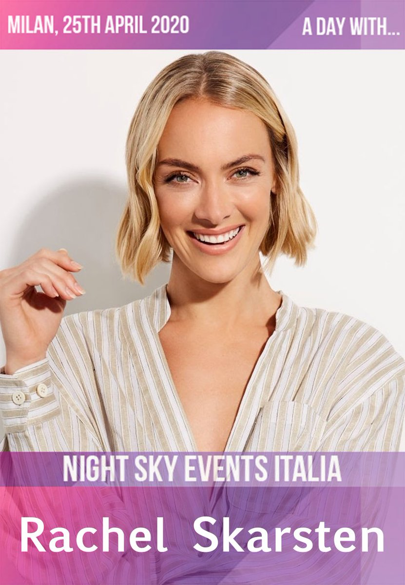 #ADayWith  Il secondo ospite è Rachel Skarsten!!  [ENG]  The second guest is @RachieSkarsten!!  Let's welcome her!!<br>http://pic.twitter.com/mYool34hpX