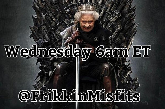 My Darlings, Join @Saga_Says & The Other Misfits Wednesday 6am ET For a game of Thrones and Exits... Here Weird is Cool & Geeks Rule Game part of @HashtagRoundup Powered by @TheHashtagGame