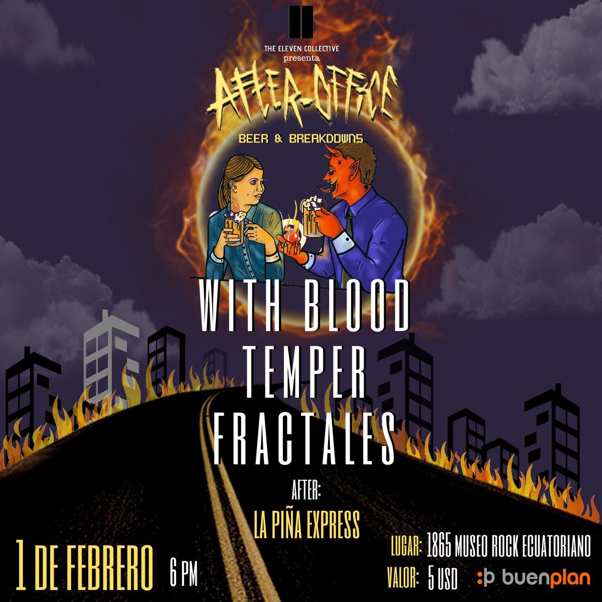 1 de febrero!  @1865MuseoRockEc #Quito #metalcore https://t.co/3DPaleYmkZ
