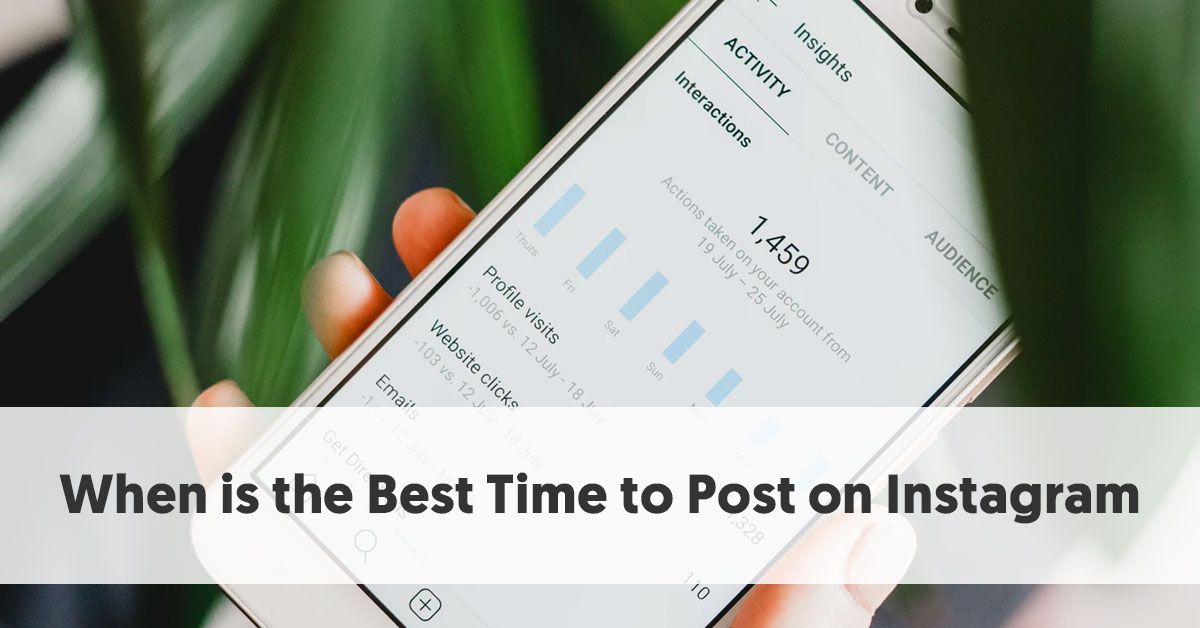 When is the Best Time to Post on Instagram?   Via @influencermh   https://buff.ly/31tsBCT #instagrammarketing pic.twitter.com/dkQsaKssVM