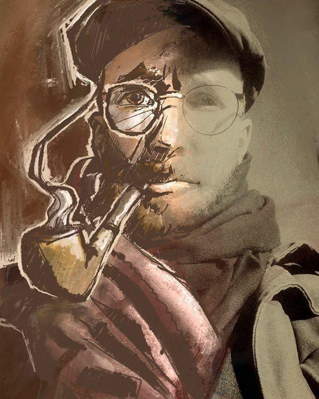 That guy. • • • #toon #me #toonme #selfportrait #stylized #drawing #sketch #instaart #procreate #wip #retro #pipe #hat #glases #illustration #illustrationart #illustrationartist #saarbrücken #Saarland #saarbruecken @edna_overboard @loryclarce https://ift.tt/2G9zD6cpic.twitter.com/EDLWQZC9dK