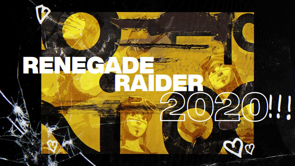 RENEGADE RAIDER 2020  RELEASING AT 70 LIKES AND 400 FOLLOWERS <br>http://pic.twitter.com/9CtxQJdeMk
