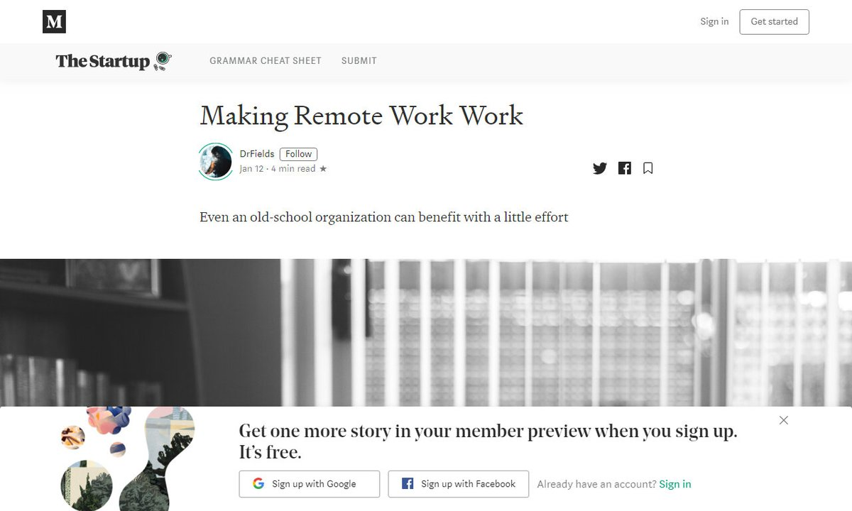 Making Remote Work Work #headquarterscity #services #remotework #clients #employees #remotework via @medium ☛ http://amp.gs/DL8hpic.twitter.com/YsvuOUj9fm
