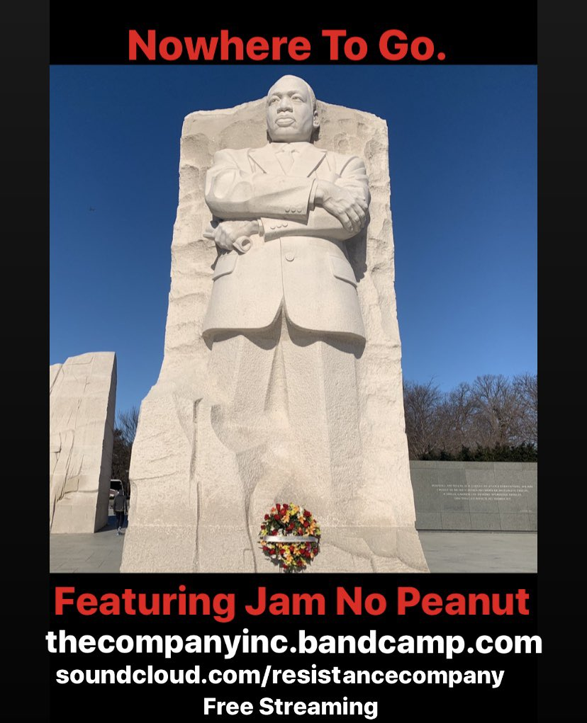If we lived by the words of MLK, we'd discover our greatness & power with less suffering. Hear this collab w/ @JamNoPeanut & his revolutionary flow. Samples of #mlk  #jfk @POkoumou @SunsaraTaylor @cameron_kasky #rosaparks #fredhampton @GretaThunberg #sudanprotests <br>http://pic.twitter.com/dEBBbqjXTX