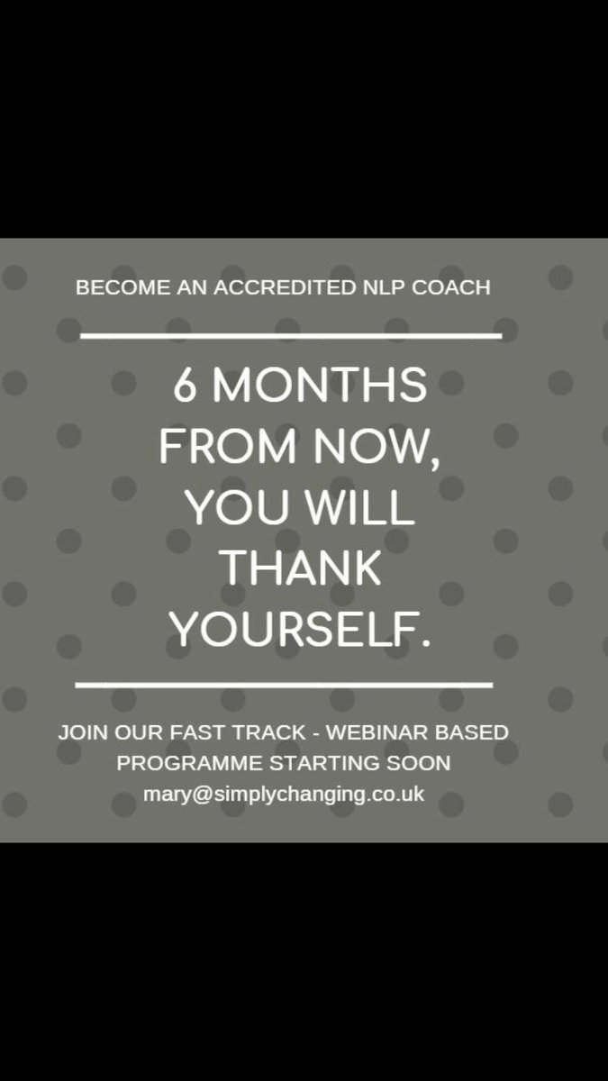 Coaching programme with Louise starting soon...call Mary x https://t.co/upMuGLimRT