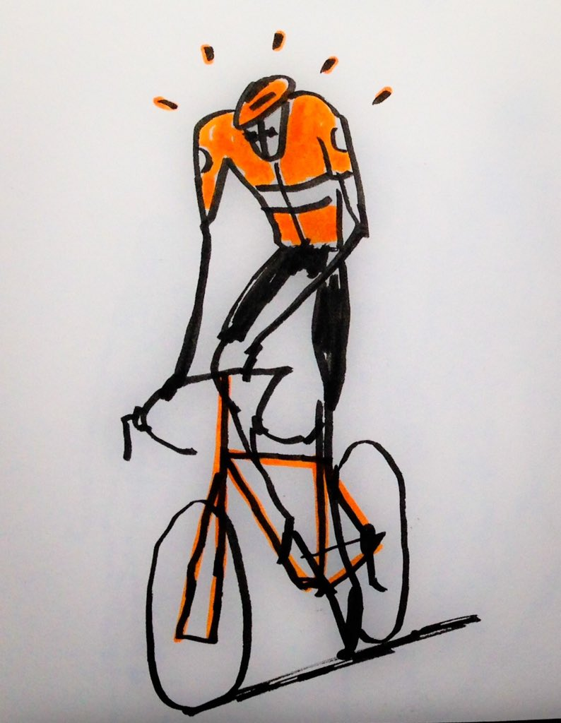 Cycling #cycling #drawings<br>http://pic.twitter.com/Sx55exRyYw