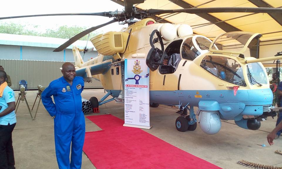 Its official. Nigeria has the largest fleet of dedicated attack helicopters in Sub Sahara Africa and 3rd such in Africa after Egypt and Algeria, even with pending deliveries. <br>http://pic.twitter.com/VJGgd6pJaX