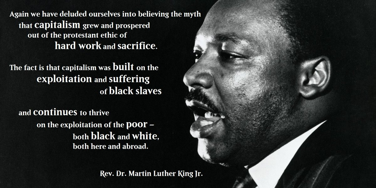 Image result for martin luther king capitalism