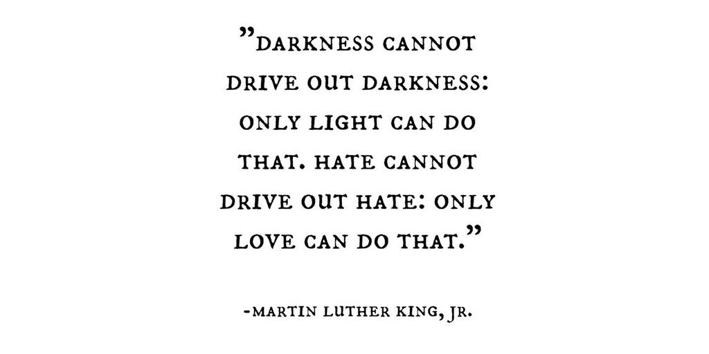 a powerful reminder on #MLKDay ❤️ #MondayMotiv...
