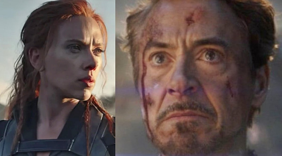 'Black Widow' Iron Man Cameo Possibly Revealed; Robert Downey Jr. Doesn't Sound Happy About It: http://bit.ly/38s5cnMpic.twitter.com/ePcIygyQKY