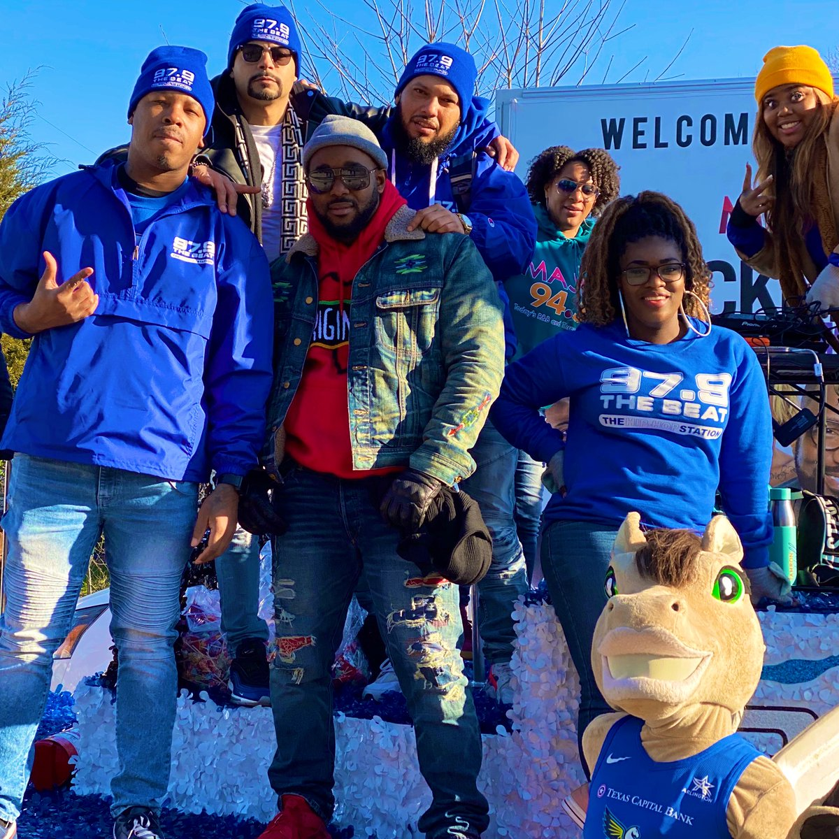 ☀️ Couldn't have asked for a better day at #MLKDayParadeDallas ☀️