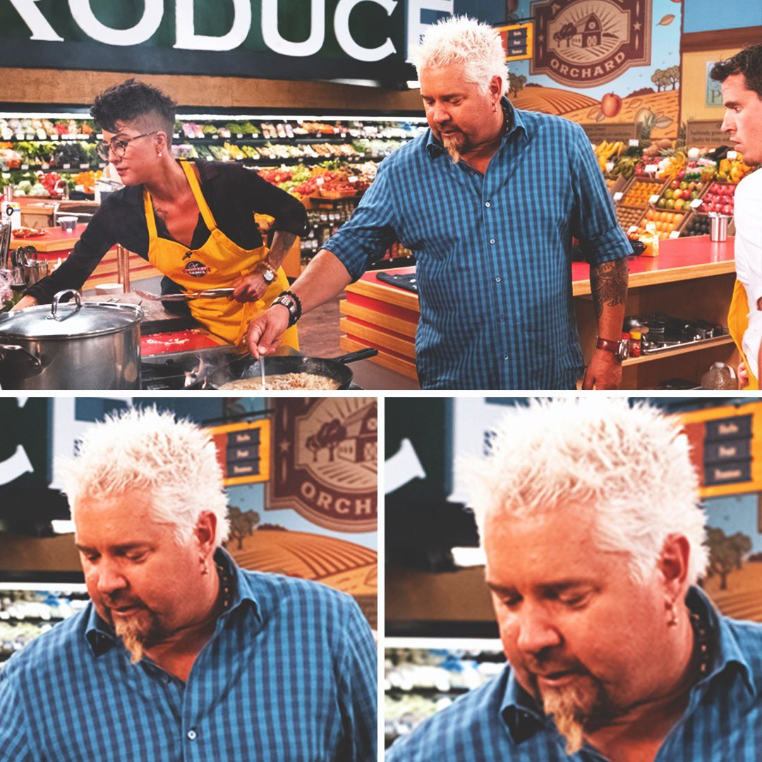 """If I keep stirring I can probably sneak a bite when no one's looking""  #GroceryGames <br>http://pic.twitter.com/D0vQT3G66T"