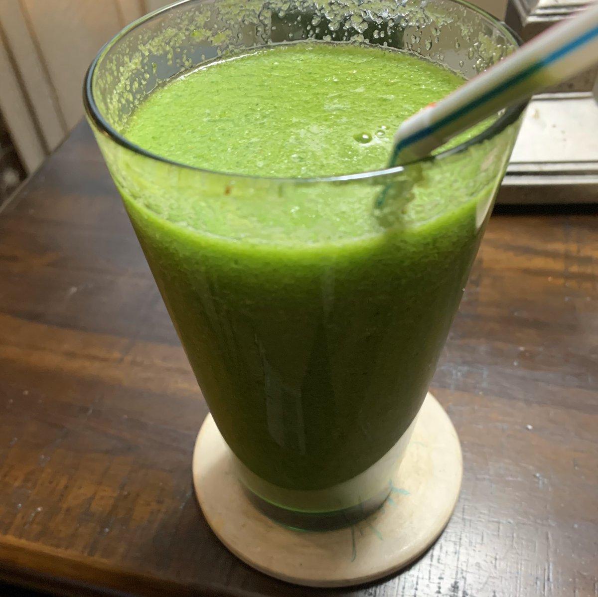 My 1st Veggie Flush smoothie. Not bad! #HealthyLiving <br>http://pic.twitter.com/BaaW1AV5J0