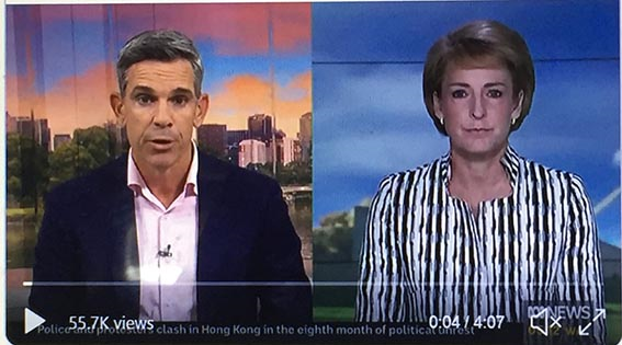 """Malcolm Turnbull and Mitch Fifield had a huge hissy fit when Emma Alberici wrote the facts about the LNP's corporate tax """"policy"""". Emma was made to pay.   What will happen to Paul Kennedy as a result of exposing Michaelia Cash and the LNP as liars on national television. #auspol<br>http://pic.twitter.com/UqEZrfilxx"""