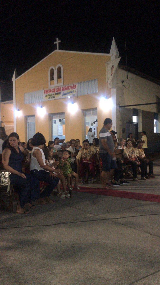 Paricipando da Festa de São Sebastião, em  Pirangi, representando o IDEMA. A comunidade está em festa. #RNLindo #FestaDaPadroeira #Fépic.twitter.com/fWuhXNTvu8