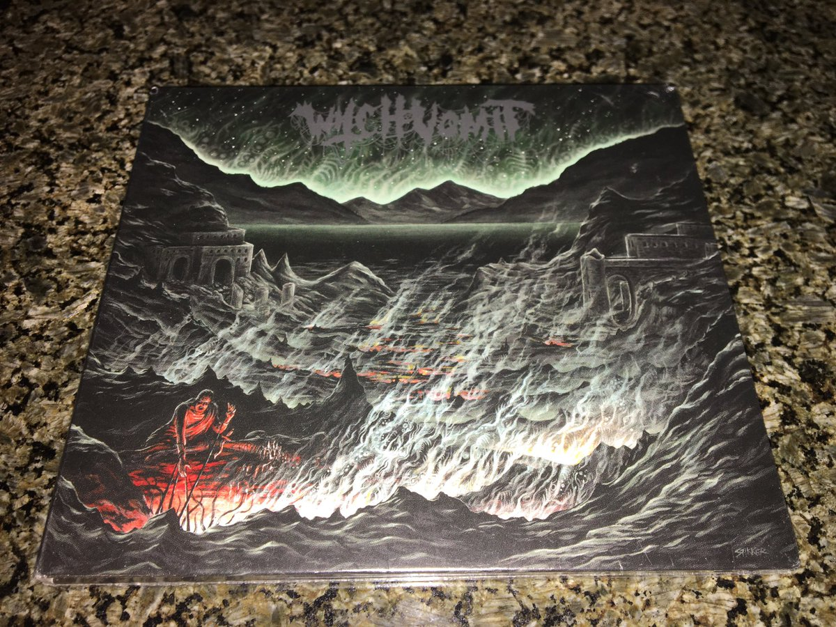 The new #WitchVomit had arrived! #deathmetal <br>http://pic.twitter.com/coIriXAgrH