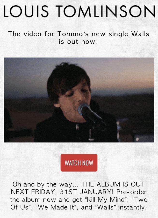 #WallsMusicVideo