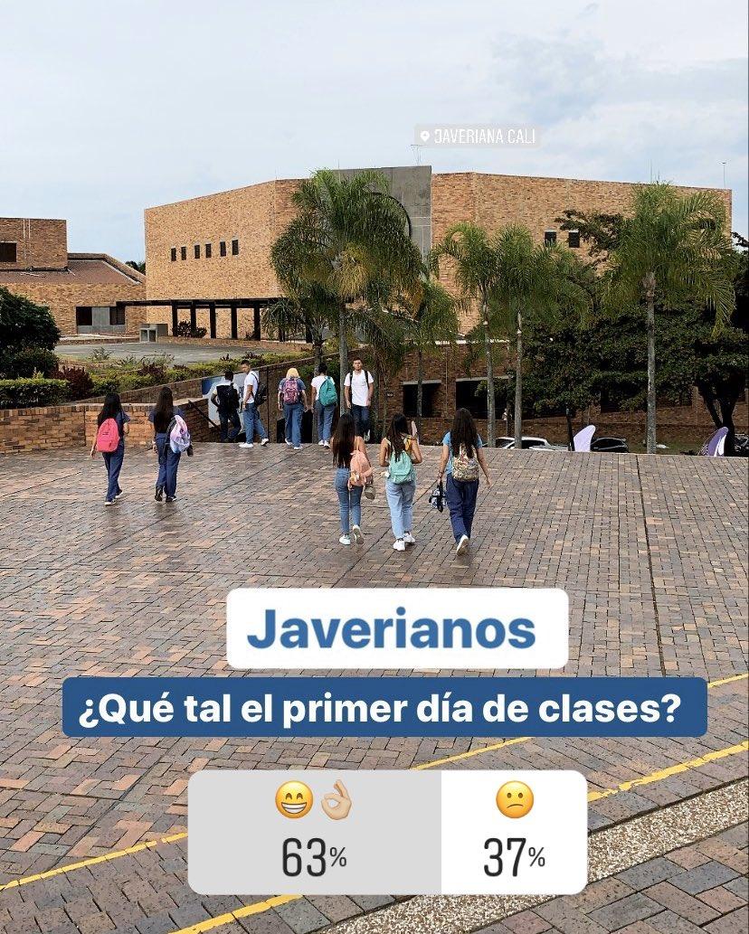 Un primer día con muy buena actitud y energía. Nuestros estudiantes poco a poco retornan a sus clases con muchas ganas de seguir aprendiendo este nuevo semestre académico. #LosMejoresParaElMundo