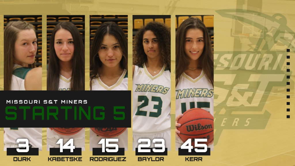 Here are tonight's starting five for @SandTWBB!