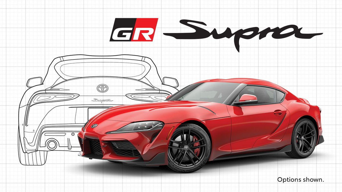Toyota is offering free limited-edition Supra posters right now