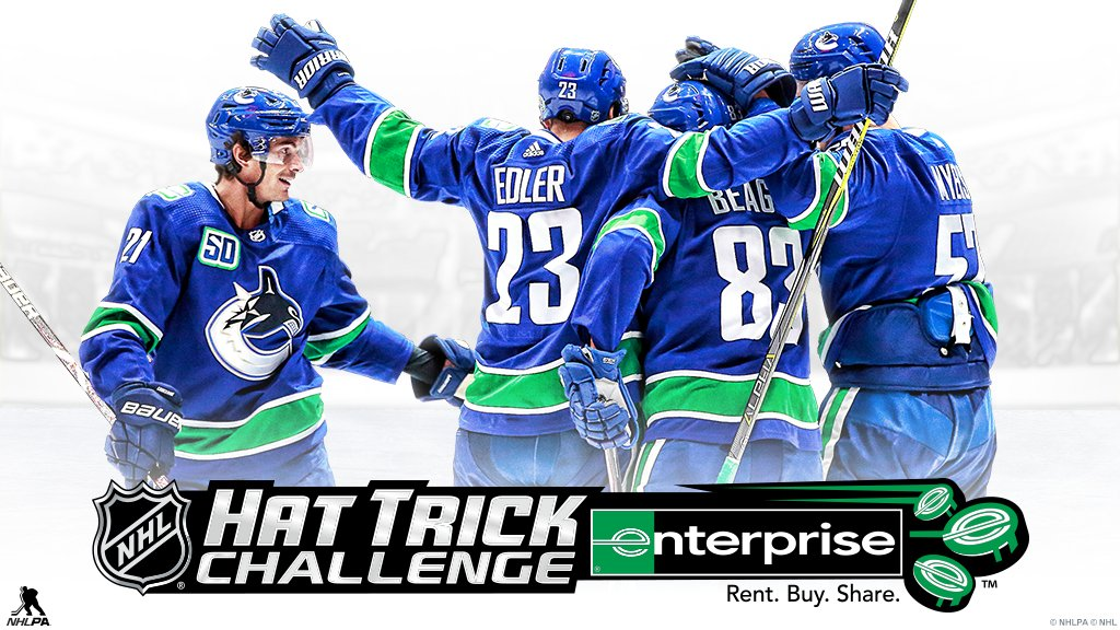 Win some great prizes by playing the #NHLHatTrickChallenge! 🍀 Play today ⟶ hattrick.nhl.com