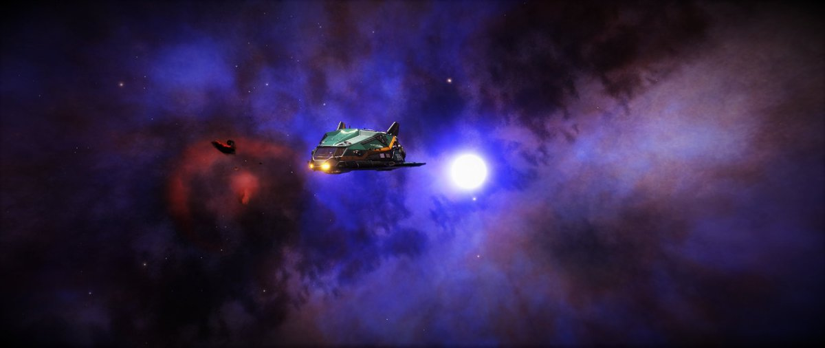 The upside of my new video series? I get to visit all these stunning locations!#EliteDangerous #EDPostcards #GalPhoto #ACasualsGuideToTheGalaxy