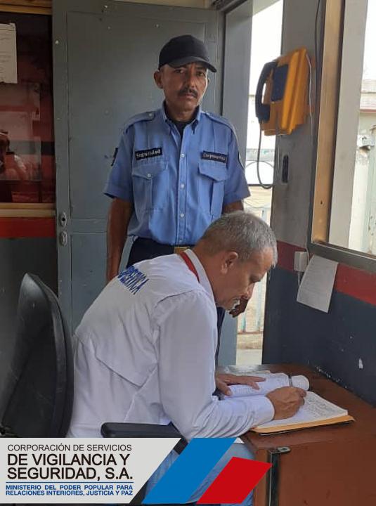 Este #20Ene se efectuó supervisión de los servicios de #vigilancia y #seguridad en los espacios del Centro de Operaciones Corpoelec de Valle de la Pascua en el estado Guárico #SeguridadQueDaPaz @MIJPVenezuela #IntegraciónHumanistapic.twitter.com/nvprHouJrK