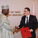 Image for the Tweet beginning: Nijer Maden Bakanı Sayın Moussa