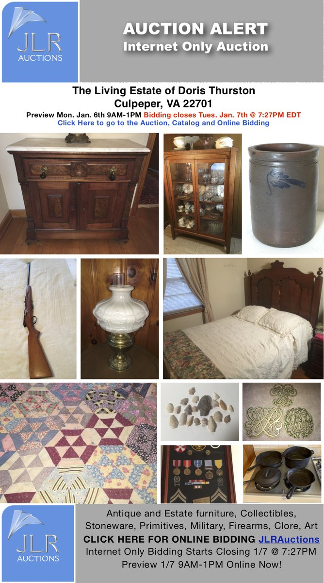 Bidding closes tomorrow night! Seller Relocation Liquidation Online Auction - https://t.co/BAC3oorrh6 https://t.co/hycAGtvbOF