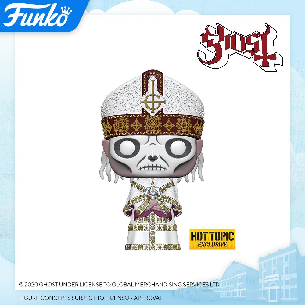 2020 London Toy Fair Reveals: Ghost - Papa Nihil! #FunkoLTF #Funko #ToyFair #PapaNihil pic.twitter.com/W0YLPDoBSY