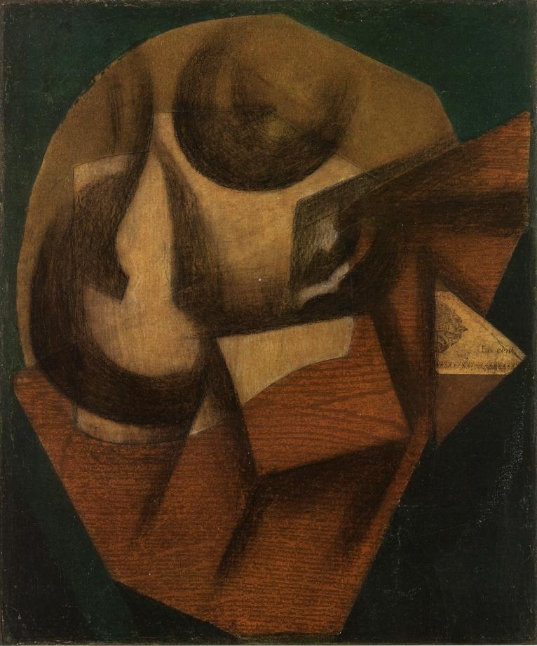 The Glass, 1914 #juangris #cubism<br>http://pic.twitter.com/Ki7C8xJzMY
