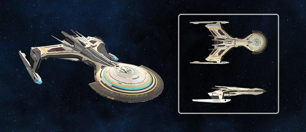 Star Trek Online's newest ship is a Frankenstein's monster of Federation and Klingon design