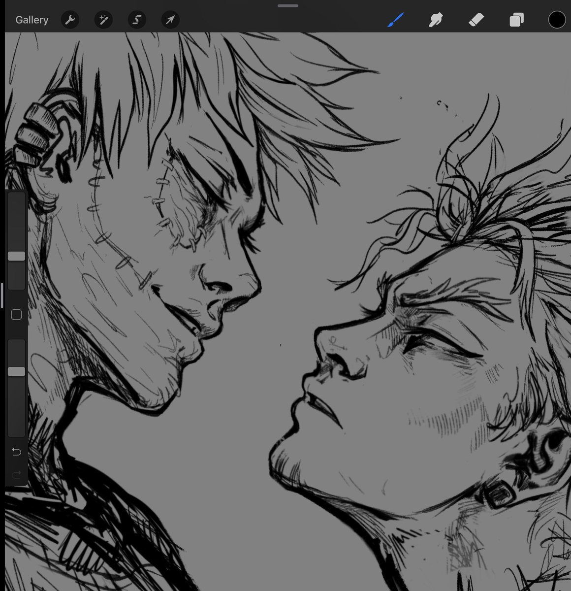 How much homoerotic energy can I fit into a single picture  #wip<br>http://pic.twitter.com/m4B5XBjxqR