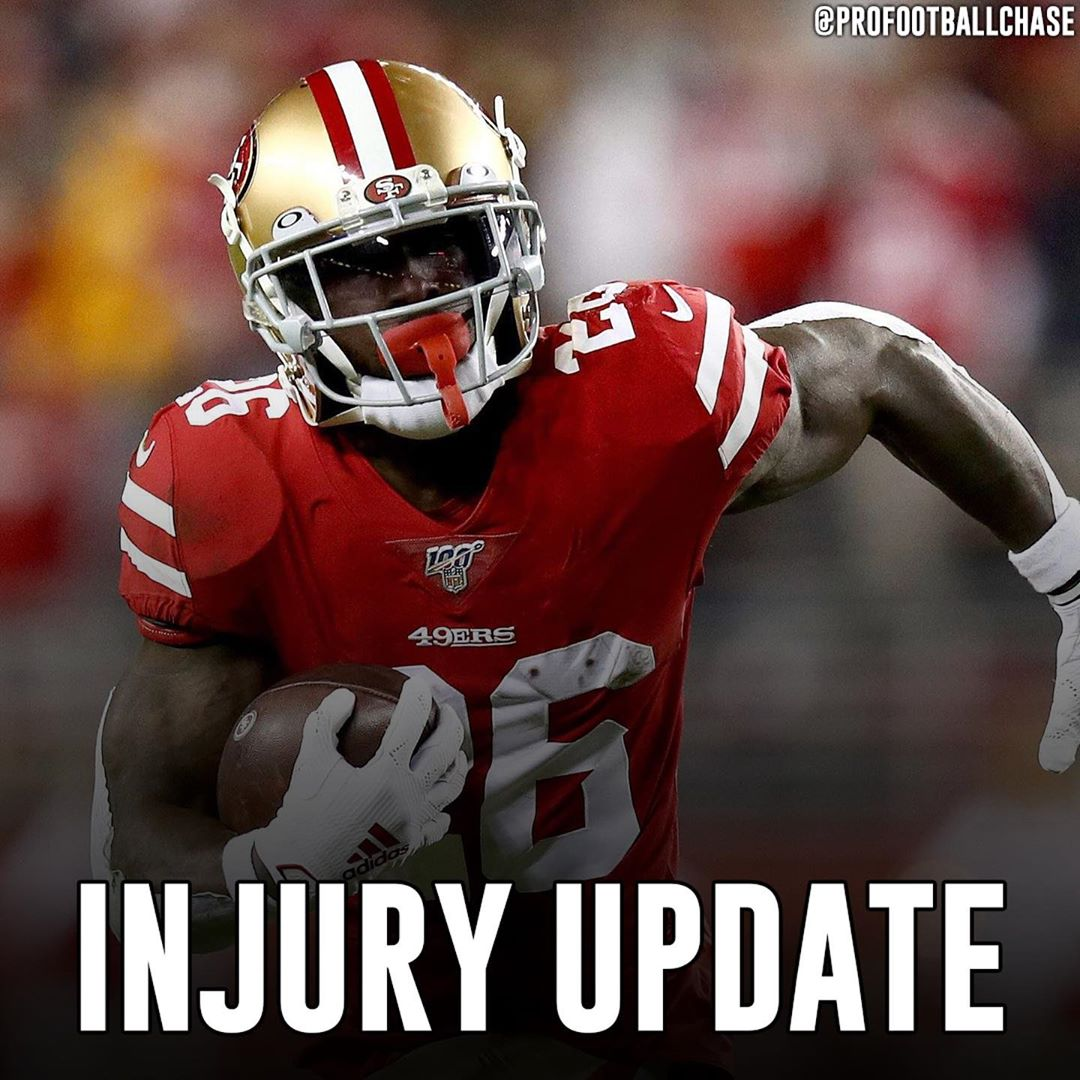 """Injury Update 49ers RB Tevin Coleman suffered a dislocated right shoulder, per HC Kyle Shanahan.  Shanahan said Coleman is still awaiting more imaging, but """"expects him to have a good chance to play"""" in the Super Bowl.  #nfl #nflnews #nfllive #nflupdates #nflnowpic.twitter.com/6qT5dAVcrY"""