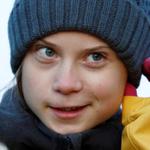 Image for the Tweet beginning: Teen activist Greta Thunberg, US
