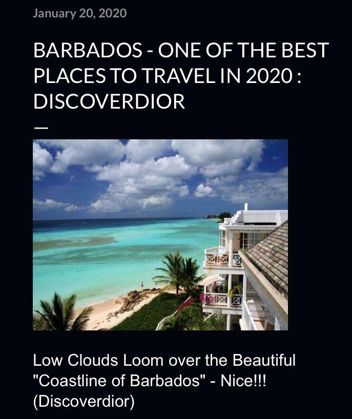 "Low Clouds Loom over the Beautiful ""Coastline of #Barbados"" - Nice!!!🏝 #Travel #traveling #picture #photo #photographer #travelphotography #discoverdior #DigitalMarketing #Marketing #Business #inspiration #contentmarketing #Influencer #digitalmarketer"