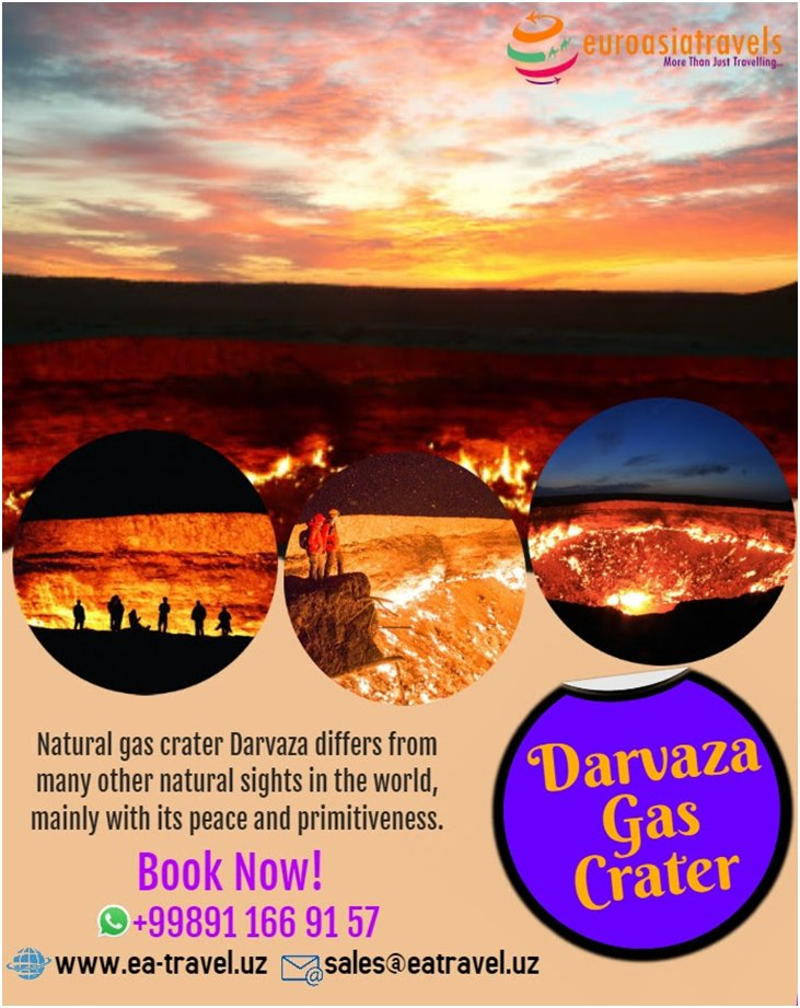 In 1972 the Russians drilled Darvaza Gas Crater (Gateway to Hell)for oil..  #darvaza #turkmenistan #crater #ourplanetdaily #travel_capture #travelblogger #traveltheworld #travelgram #insta #instatravel #moodygrams #photo #photography #travel #traveler #wanderlust #explorer #gas