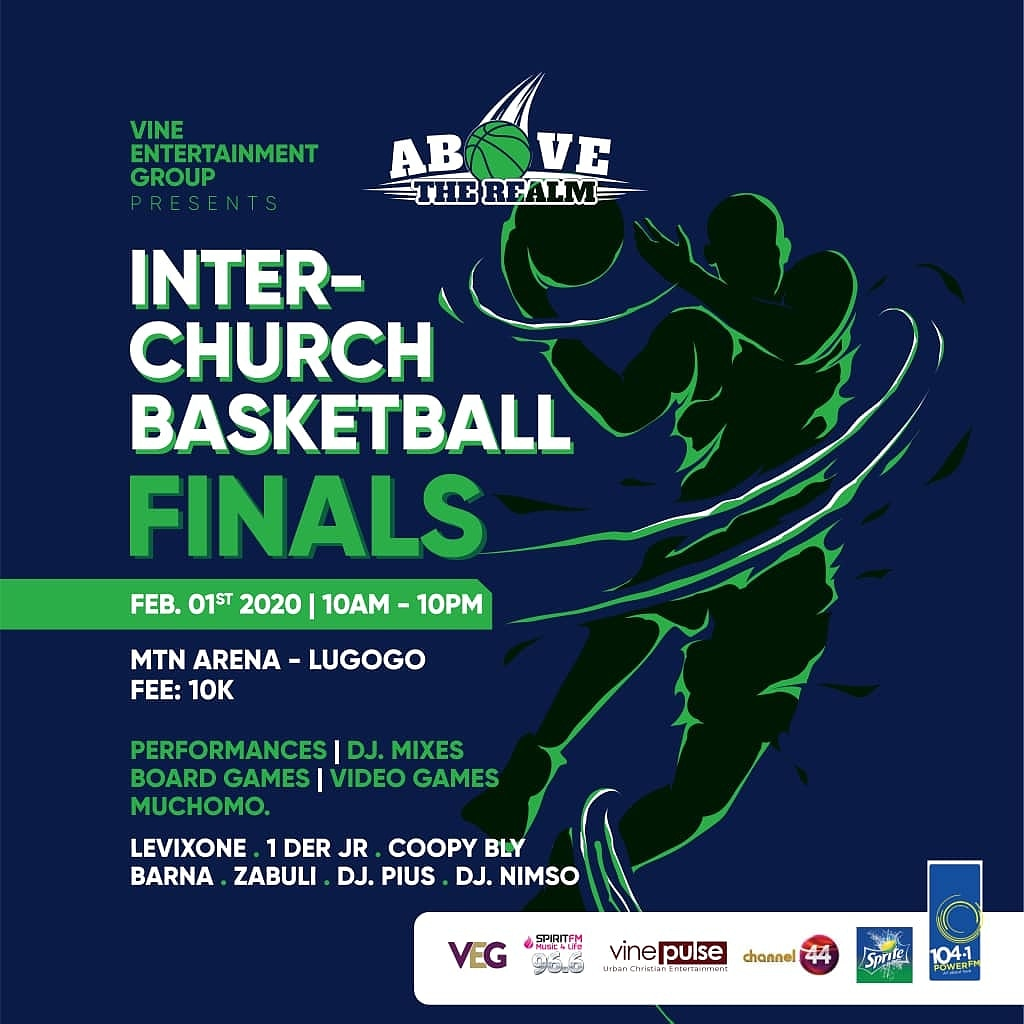 The second edition of the inter church basketball tournament is back  happening on 1st February at Mtn arena entrance is at only 10k with performances from @1der_jr  @zabuli_256 @levixone @BarnaBirungi @coopybly and mixes of form your favorite deejays   #ATR2020pic.twitter.com/BzHOJWNqlC