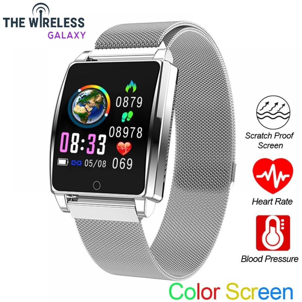 AK18 Smart Watch Men Women Heart Rate Bracelet Sleep Monitor Blood Pressure Fitness Tracker Waterproof Color Screen Sports Band.  https://thewirelessgalaxy.com/product/ak18-smart-watch-men-women-heart-rate-bracelet-sleep-monitor-blood-pressure-fitness-tracker-waterproof-color-screen-sports-band/….  45.90.#technologyr pic.twitter.com/u5xUATw1hA