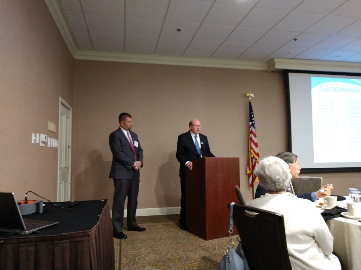 Dave Black @hrccredc and George Book @WS_Chamber addressing Capital Region COG tonight.
