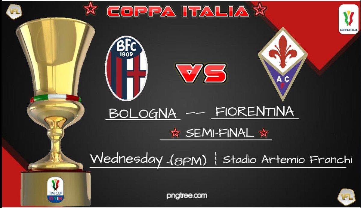 ☆🇮🇹𝘽𝙤𝙡𝙤𝙜𝙣𝙖🇮🇹☆ -Big game in Wednesday in Coppa Italia🇮🇹 frst chance to fight for Trophy🏆🇮🇹  ✅ |𝐖𝐞𝐝𝐧𝐞𝐬𝐝𝐚𝐲  🆚| @VFL_Fiorentina🇮🇹 🏆|𝐂𝐨𝐩𝐩𝐚 𝐈𝐭𝐚𝐥𝐢𝐚🇮🇹🏆 🥇|𝐒𝐞𝐦𝐢-𝐅𝐢𝐧𝐚𝐥  ⏰|𝟖𝐏𝐌  @TheVFL_ #FIFA20 #CoppaItalia  #BolognaFiorentina #ProClub