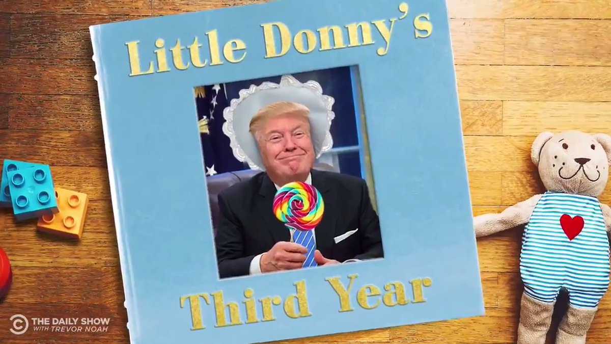 They grow up so fast 😭 Here are some highlights from Little Donny's 3rd year: