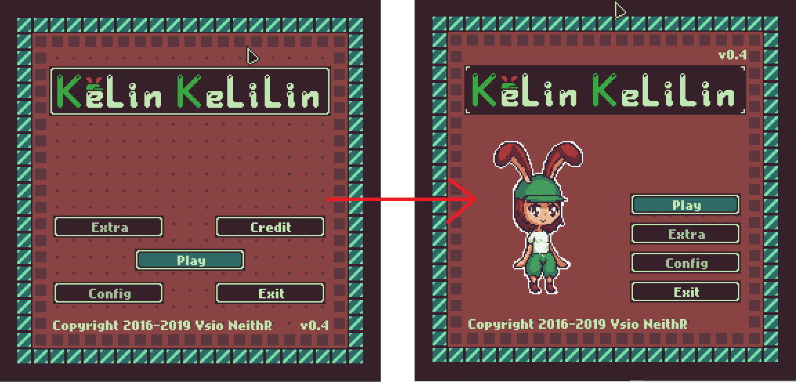 Continued my game project, #KelinKelilin. Gonna do some change on the title screen from new mockup. #gamedev #indiedevpic.twitter.com/QLbVtJrxrU