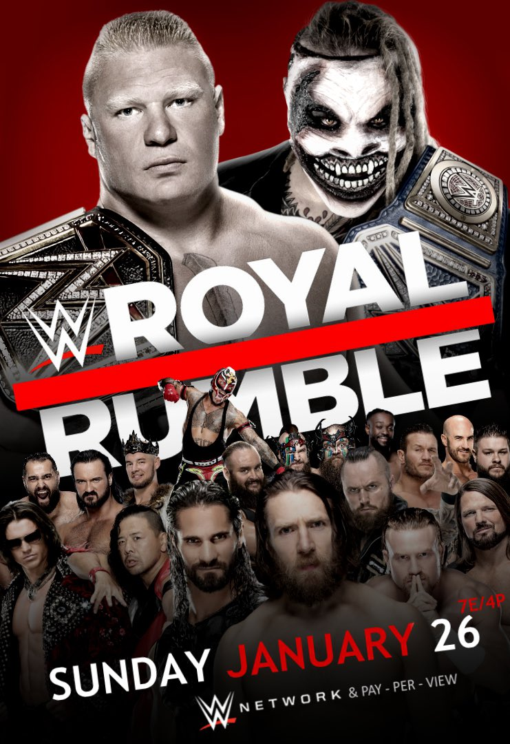 Get your pass for Sunday's #RoyalRumble Party before we sell out! facebook.com/events/s/the-f…